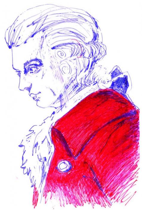 Wolfgang Amadeus Mozart by lukeman1977